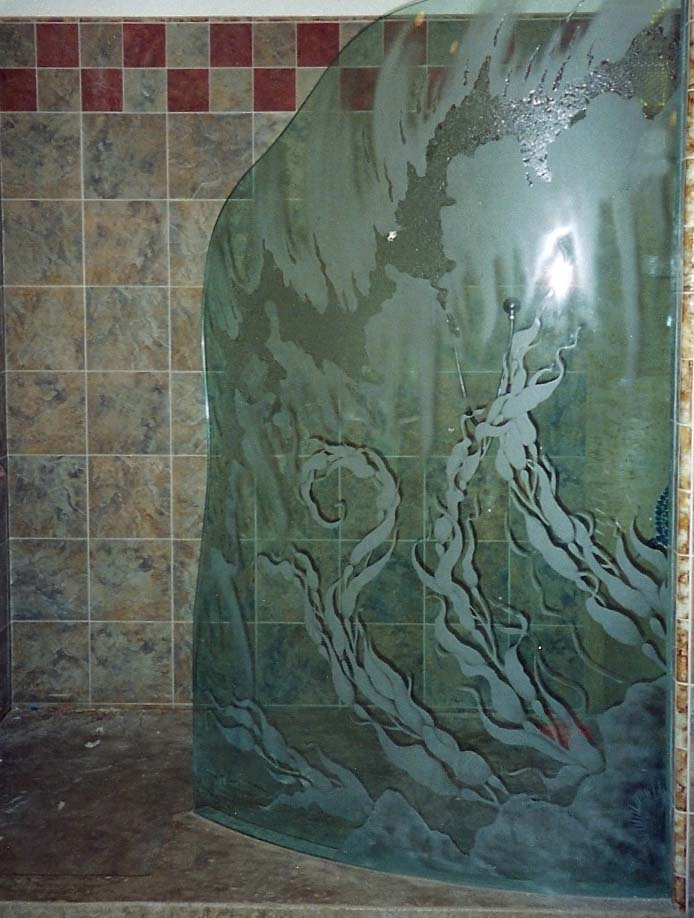 And shower enclosures with sandblasted windows and door glass - Todd Sotero Construction Enjoy This Photo Gallery We Re